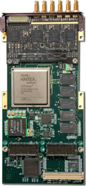 Model 71861 4-Channel 200 MHz A/D with DDC, Kintex UltraScale FPGA