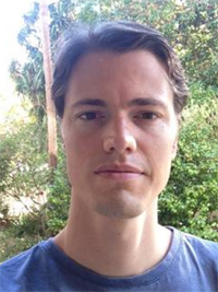 Dane Du Plessis, Ph.D. student at the University of Cape Town